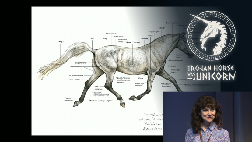 The Trojan Horse Was a Hippogriff: Equine Creature Design with Terryl Whitlatch